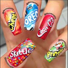Image result for cute basketball nails
