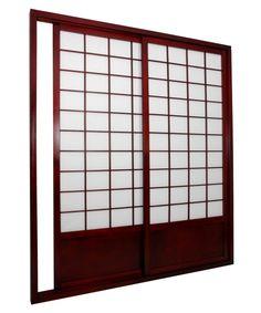 Shoji Double Sided Sliding Door Kit Room Divider