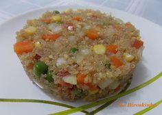 Salada de Quinua com Legumes - Na Biroskinha