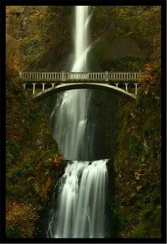 Bridge over the Falls by *La-Vita-a-Bella on deviantART http://la-vita-a-bella.deviantart.com/art/Bridge-over-the-Falls-69094866