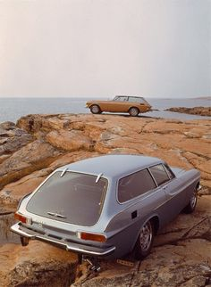 Volvo P1800. I finally found the perfect vehicle for you to drive!!!!!!!  Hahaha