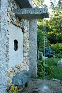 Water Feature by Lew French