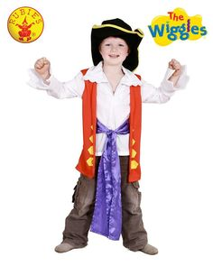 The Wiggles Purple Jeff Boys Premium Costume Child Kids Book Week Party Dress Up