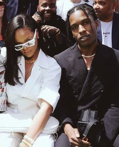 Image de rihanna, asap rocky, and celebrity Mode Rihanna, Rihanna Fenty, Rihanna Style, Aesthetic Photo, Aesthetic Pictures, Urban Aesthetic, Nicki Minaj, Asap Rocky Wallpaper, Pretty People
