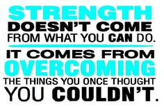 Motivation Monday: Strength