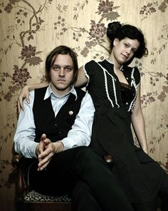 win butler and Régine Chassagne. arcade fire.