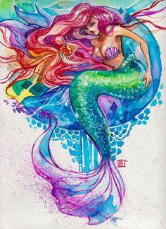 Ariel by ~RianGonzales on deviantART