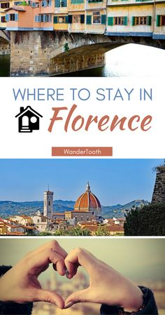 Where to stay in Florence, Italy. Florence best neighborhoods and the best Florence hotels for a trip you won't forget. | Florence Travel Tips | Florence Travel Guide- @WanderTooth