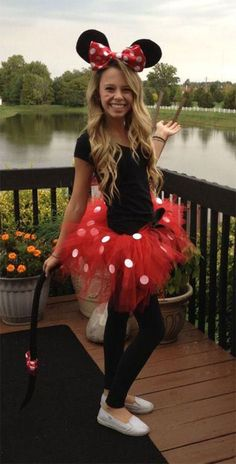 Halloween is not only about scary, spooky, creepy and ugly dresses/costumes, it is also about wearing funny, cheaper and happy dresses too. You can put on the g