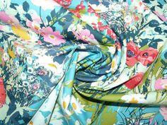 Fabric Art Gallery Lavish mothers garden by bobbinsnbuttons1