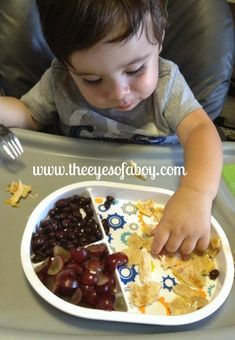 Quick and healthy toddler meals and snack ideas - great resource with huge list of foods for little kids