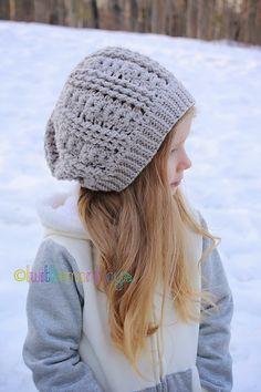 Ravelry: Wave Slouch Hat pattern by Crochet by Jennifer