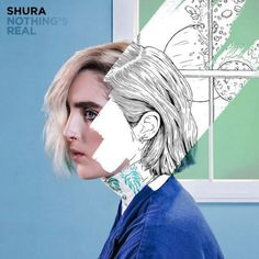 Shura 'Nothing's Real' album cover (full size)