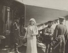 "Grand Duchess Maria Nikolaevna  Romanova of Russia on board the Imperial Royal yacht,the  Standart in 1914.  ""AL"""