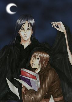 Akkarin and Sonea by Yuzukiii
