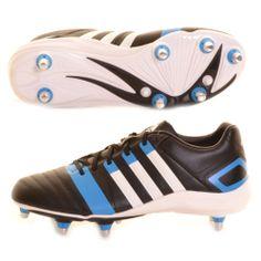 premium selection c5e70 e7e26 Adidas FF80 TRX SG 2 Boot Black, White and Blue - £70.00 at ShopRugby.com   Rugby  Adidas