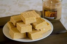 Maple Pumpkin Fudge-25 Fantastic Fudge Recipes - Chocolate Chocolate and More!