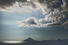 Possibly Mt. Fuji in the background (Photo credit: 8 og) Yakushima, Lenticular Clouds, Gods Creation, Unconditional Love, Fuji, Photo Credit, Weather, Island, Nippon