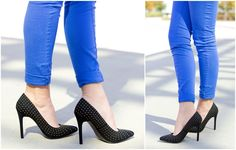 A classic silhouette gets a fun upgrade—check out all the gorgeous studs! #dsw #shoelover