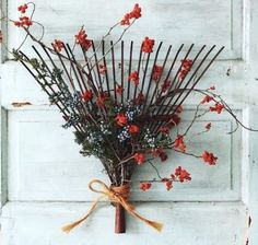 Cute Fall Decor for the front door