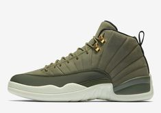 timeless design b2be2 4a0a1 Nike Air Jordan Retro XII 12 CP3 Chris Paul Class of 2003 Olive 130690-301