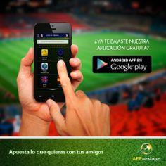 Nueva app de apuestas de fútbol con los amigos