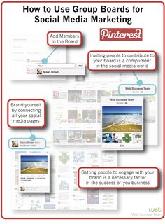 How to Use Group Boards for Social Media Marketing. #community #Pinterest #socialmedia #socialsignals http://www.syndicationmasters.com