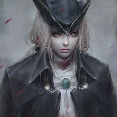 Lady Maria rough paint from bloodborne~   #drawing #fanart