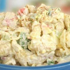 Crabby Pasta Salad