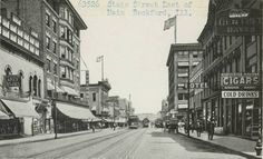 State St.-east of Main St.-Rockford, Illinois.
