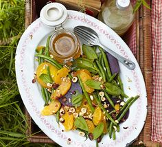 Simple flavour combinations make this salad both versatile and unique- it has lots of textures and a sweet honey dressing