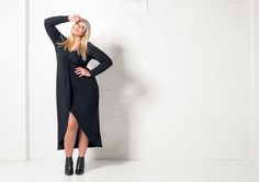 Harlow launches with a BANG! Fall Winter, Autumn, Body Love, Australian Fashion, Fashion Lookbook, Bangs, Curves, Product Launch, High Neck Dress