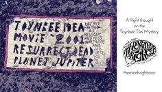 What are the Toynbee Tiles? Weird And Wonderful, Wonderful Things, Tile Art, Tiles, Mystery, Thoughts, Creative, Blog, Design