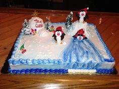 A cake I made for church :)