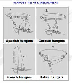 rapier hanger - Google Search