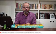 Pastor diz que Sérgio Cabral pediu que ele assinasse doação de 'cinema' para presídio. #OlhouLigou