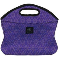 Gaiam 31573 Purple Flower Of Life Lunch Clutch