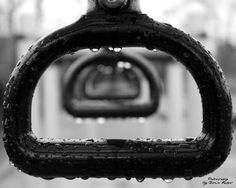 ~Handle Drops~ By Ernie Kasper #blackandwhitephotography   #water   #shapes   #playground