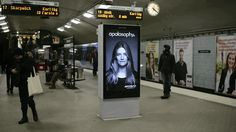 And Harry Potter-esque ads in subways: | 22 Pictures That Prove That 2014 Is The Damn Future