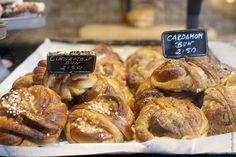 Cinnamon and Cardamon Buns at Fabrique bakery, London