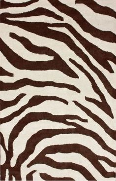 I love brown colors.  The flow of the pattern can look quite elegant in your space.  Rugs USA Serendipity Zebra Print Brown Rug