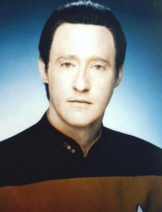 My second favorite character from TNG after Picard - love Mr. Data!