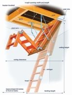 attic stairs 1