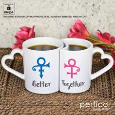 Best Better Half © Personalized Couple Mugs at Perfico.com