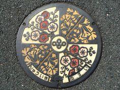 art design | street design | manhole cover | japan | col.11