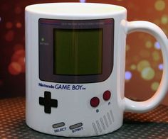 Nintendo Game Boy Coffee Cup