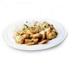 Pollo con Riso al sugo di Funghi Senza Glutine MinceurD