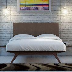 Modesto Upholstered Platform Bed