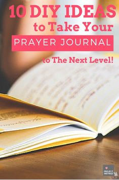 These journals are such a great way to not only be strategic about our prayer life but provide a personal accountability. If you're thinking about crafting your own prayer journal check out these awesome DIY Ideas to take it to the next level!
