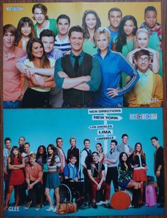 GLEE - LEA MICHELE, CHRIS COLFER, DIANNA AGRON, CORY MONTEITH Posters   eBay